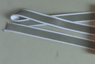 画像1: 平織りナイロン紐[光反射タイプ] (1)